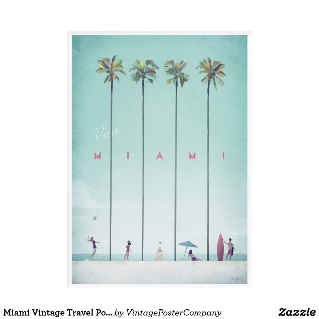 Set Of 3 Prints Miami Beach Hut Lifeguard Tower Print Set Wall Art