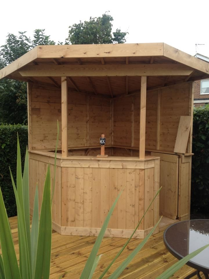 Garten Bar Selber Bauen Home In 2019 Gartenbar Bar