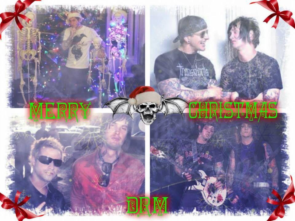My Christmas Avenged Sevenfold edit ❤️