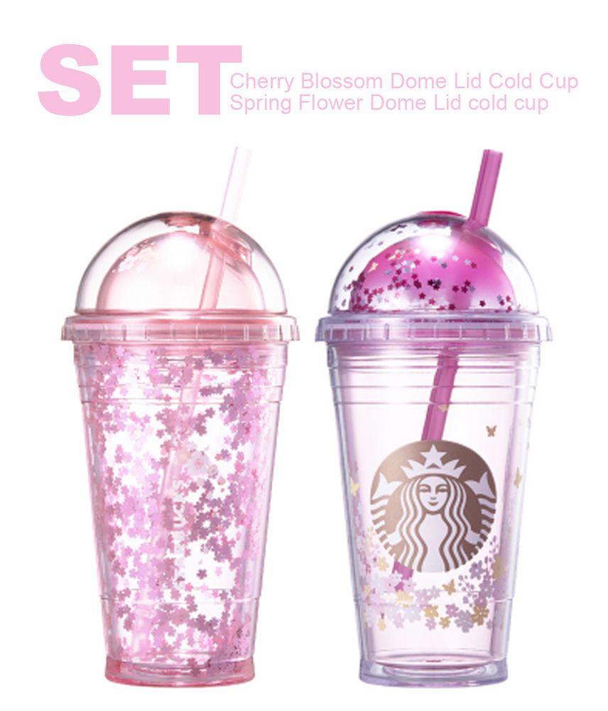 801d1f321c0 Details about 2018 Starbucks Korea Spring flower + Cherry Blossom ...