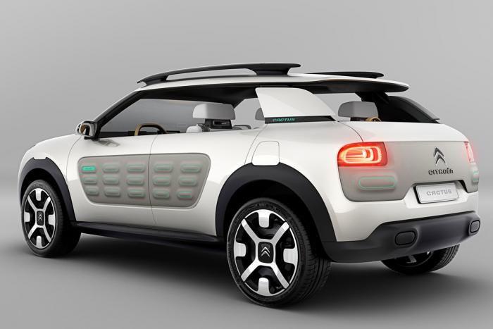 Citroen Cactus Concept Citroen Car Citroen Concept Concept Cars