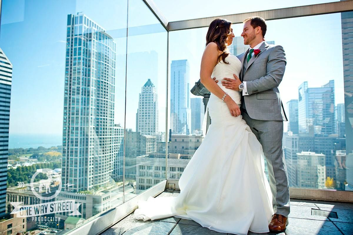 Wedding day photos on the Hangover at ROOF on theWit.