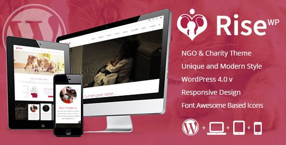 Top 5 NGO and Charity WordPress Themes Download
