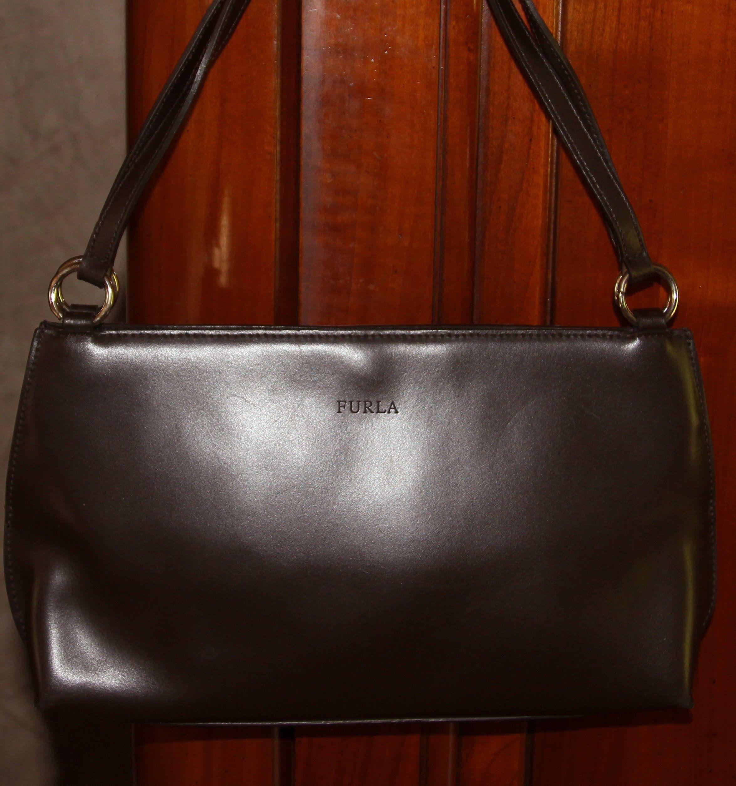 chaussures de séparation 38d0a 4186b FURLA bag very good condition, vintage, Brown, smooth ...