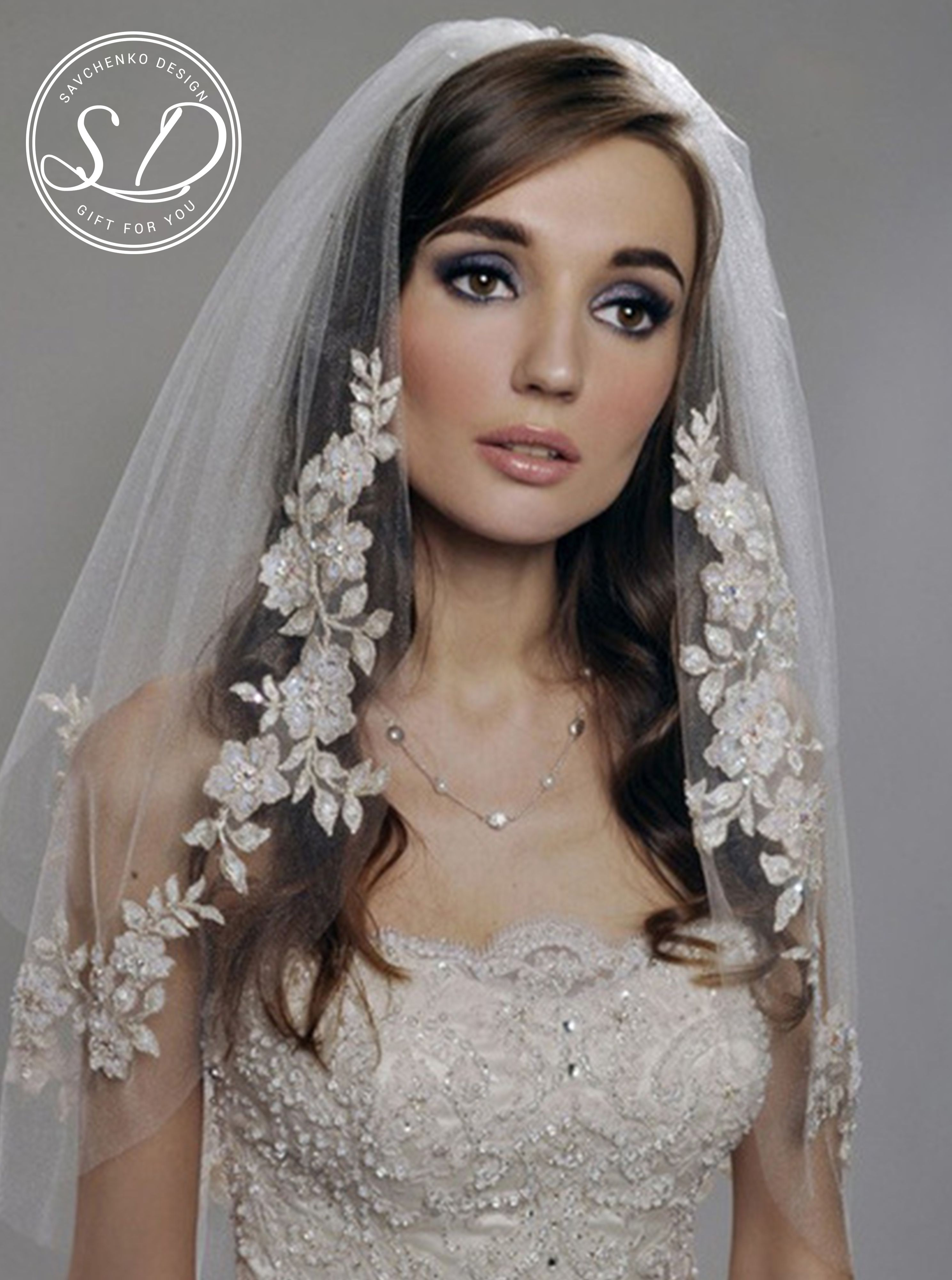 Wedding Lace Veil Mantilla Ivory Veil Lace Mantilla Veil Etsy Kruzhevnoe Svadebnoe Plate Svadebnaya Fata Korotkaya Vual [ 4000 x 2976 Pixel ]