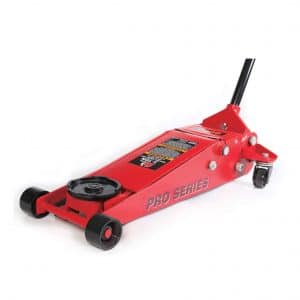 A Hydraulic Floor Jack Is Used To Lift Heavy Vehicles In Order To