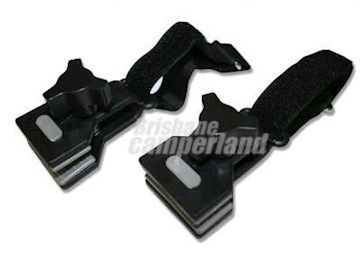 Caravan De Flapper Kit With Velcro Straps Pair Protects Your Rv Awning Against Rips And Tears While Reducing Wind Noise With Images Velcro Straps Velcro Caravan