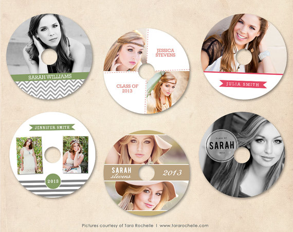 Cd Labels Template Dvd Labels Photography Branding Cd Template