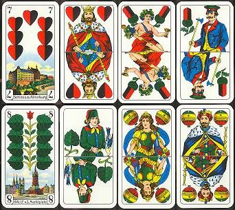 Andy S Playing Cards Germany And Central Europe Page 1 Cards Card Design Divination Cards