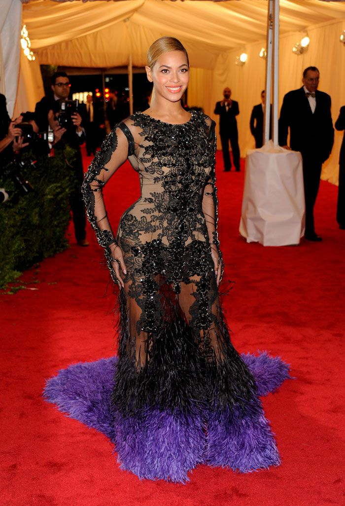 Top 10 style trends of 2012: Beyonce's skin-tight, largely sheer ...