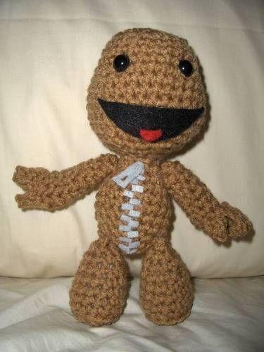 Crochet Sackboy! - CROCHET | Crochet | Pinterest | Crochet, Loom ...