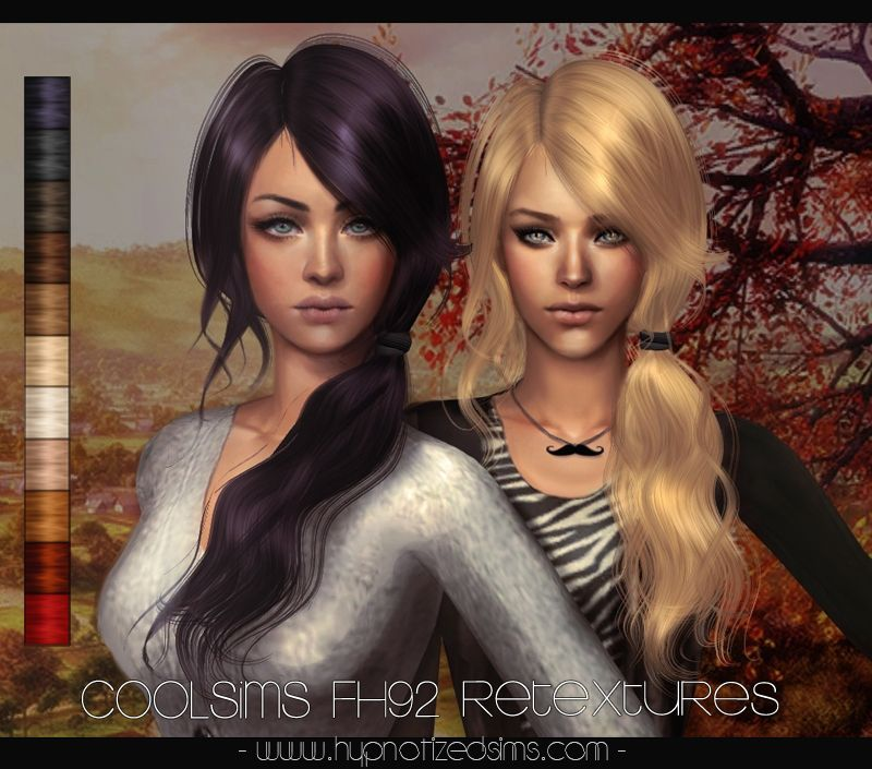 Hypnotized Sims Coolsims Fh92 Retextures The Sims 2 Cc