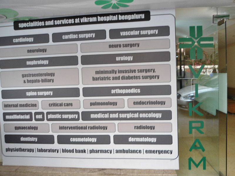 Ent specialist in Bangalore are present at vikram hospital