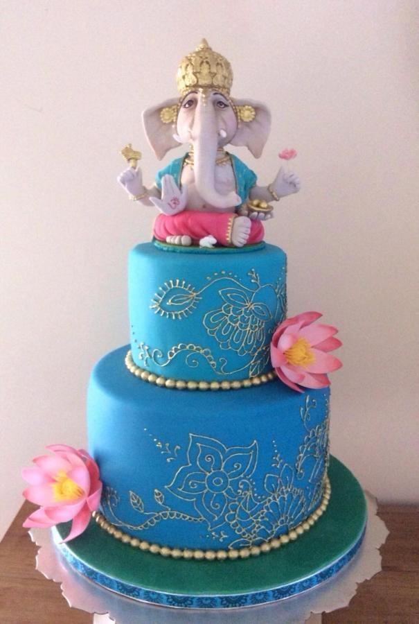 Ganesh cake  Cakes & Cake Decorating ~ Daily Inspiration  ~ 221321_Cake Decorating Ideas India