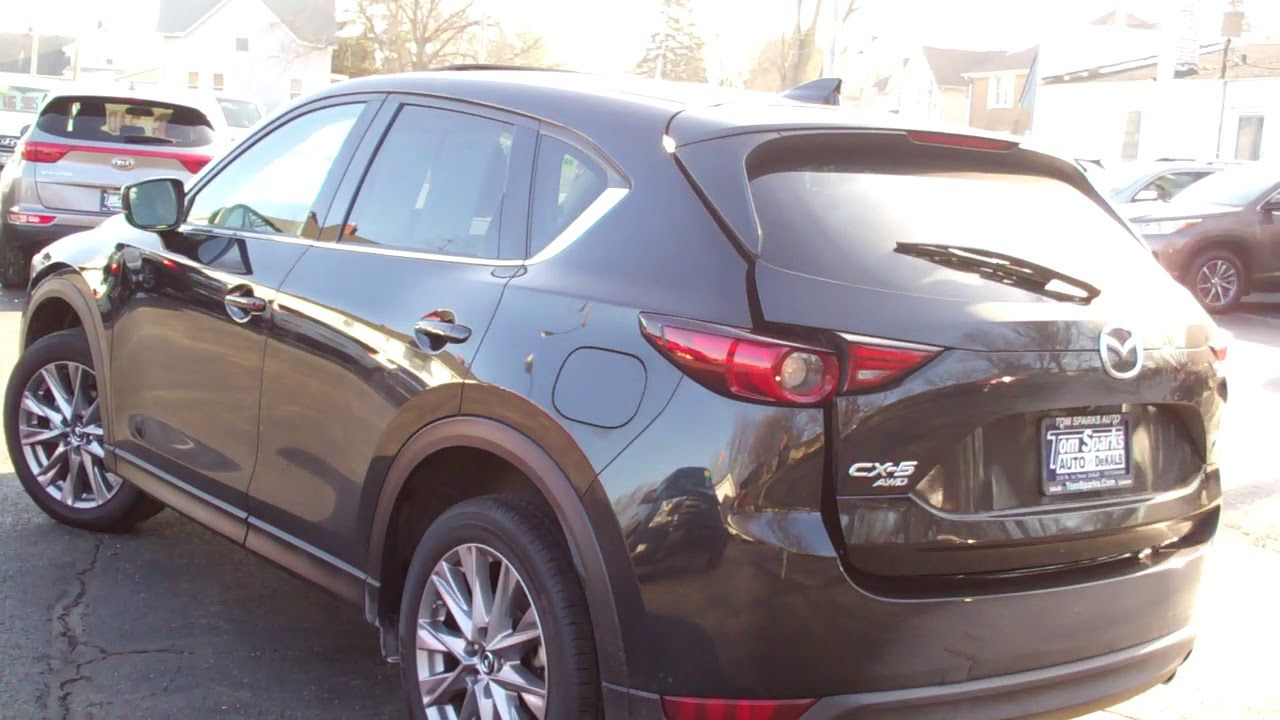 2019 Mazda CX5 awd grand touring Dekalb IL near Genoa IL