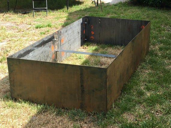 Diy Corten 96 L X 48 W X 20 H Planter Bed Assembly 400 x 300