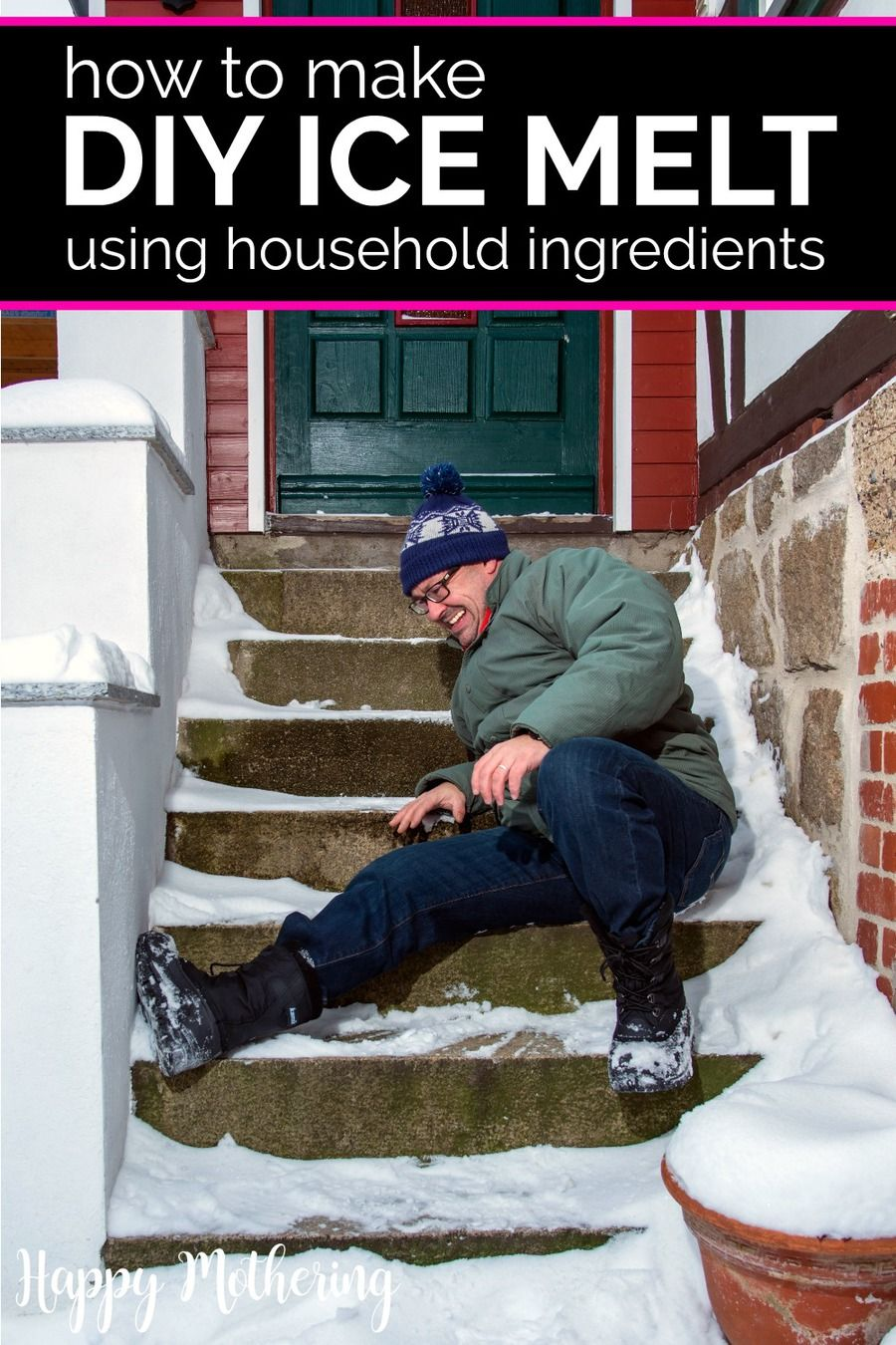 How To Get Rid Of Packed Snow On Driveway