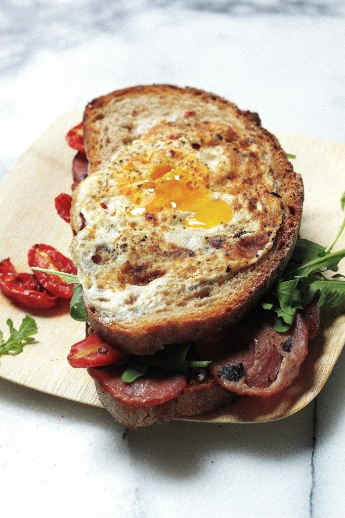 """Bird's Nest"" Breakfast BLT"