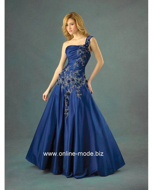 Ballkleid dunkel blau