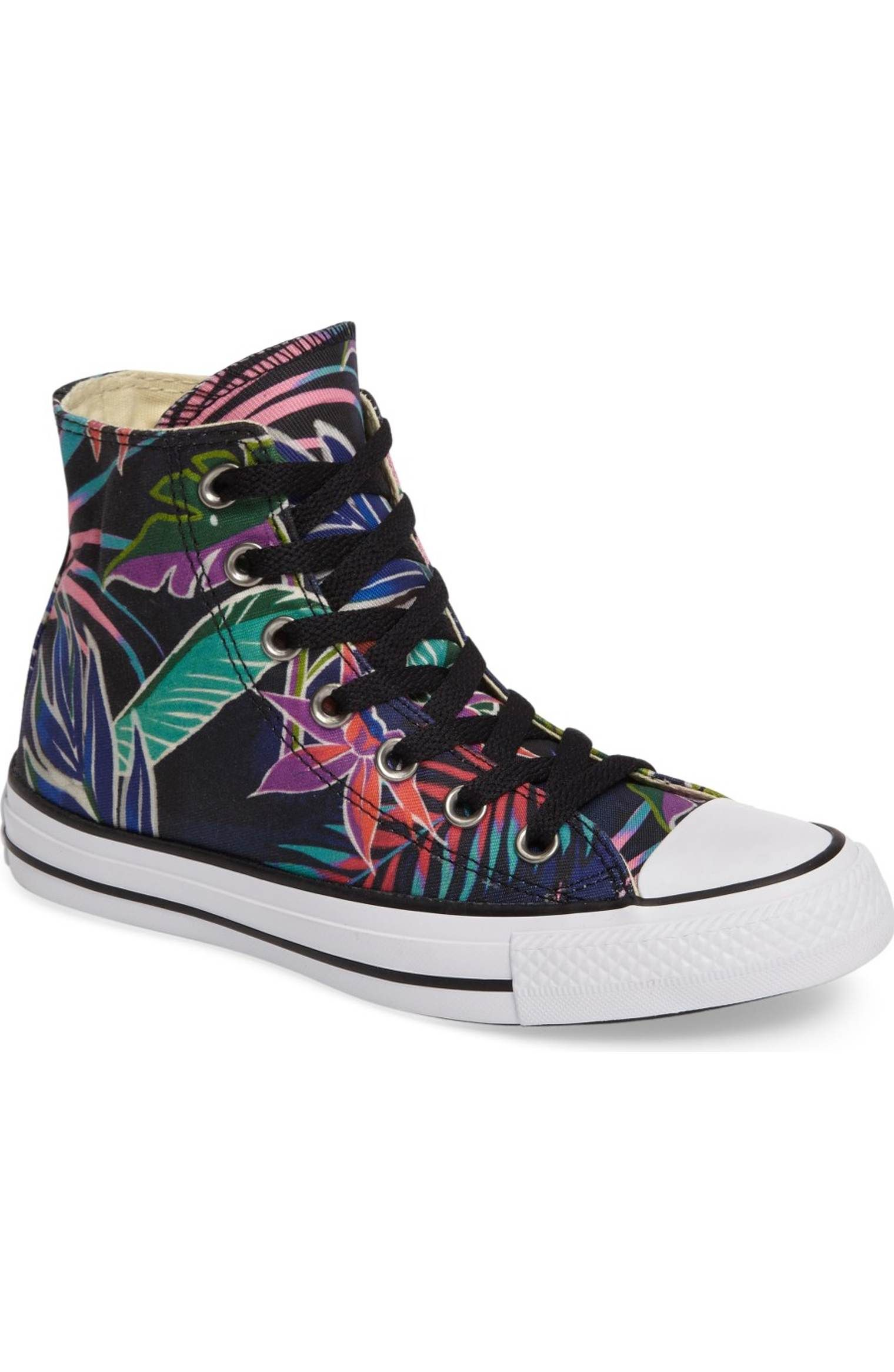 brand new 730b1 128fa Main Image - Converse Chuck Taylor® All Star® Print High Top Sneaker (Women)