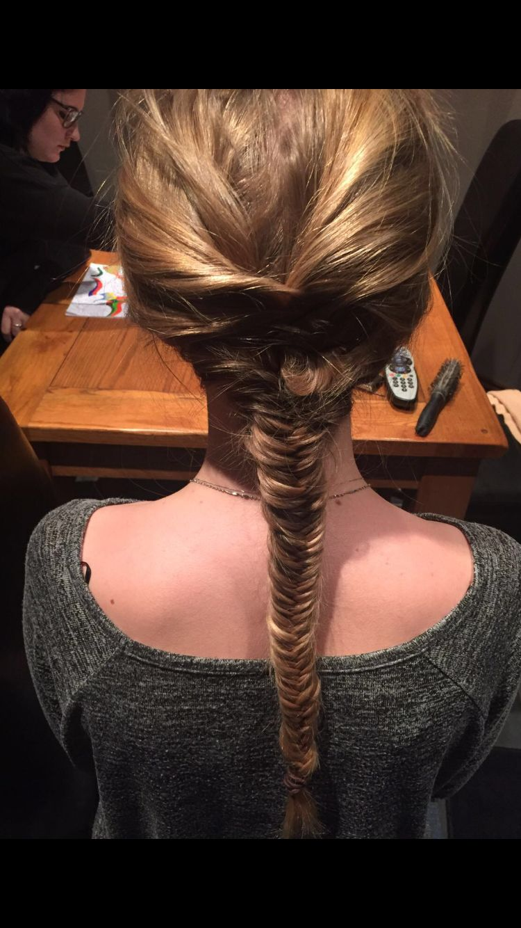 """Fishtail! Quote my bestie """"you have Pinterest hair"""""""