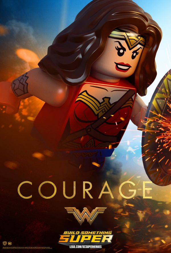 Wonder Woman Poster Download | LEGO Super Heroes | Wonder ...