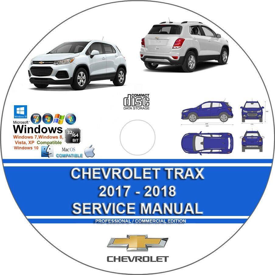 Advertisement Ebay Chevrolet Trax 2017 2018 Service Repair