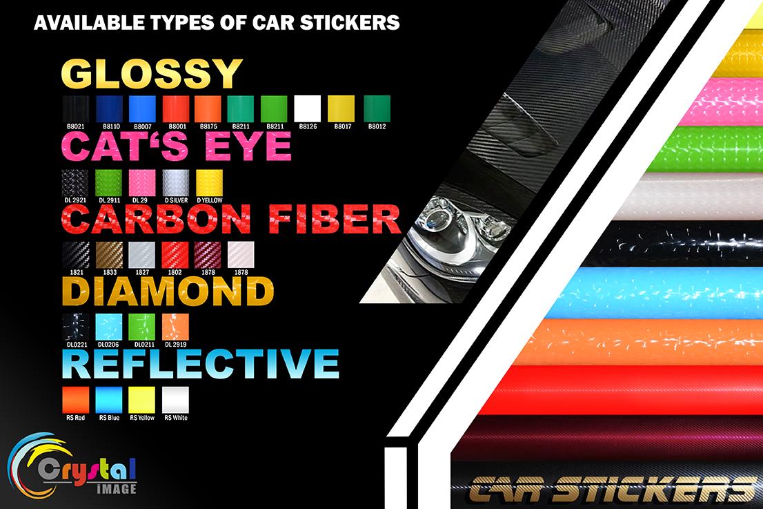 Car Sticker | Chemica Vinyl Supplier Philippines | Digital