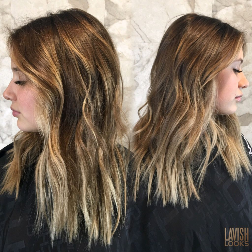 Toasted Champaign  #balayage #hairpainting #brownbalayage #colormelt #seamlesscolor #modernsalon #behindthechair #hairdressermagic Instagram my_lavish_looks