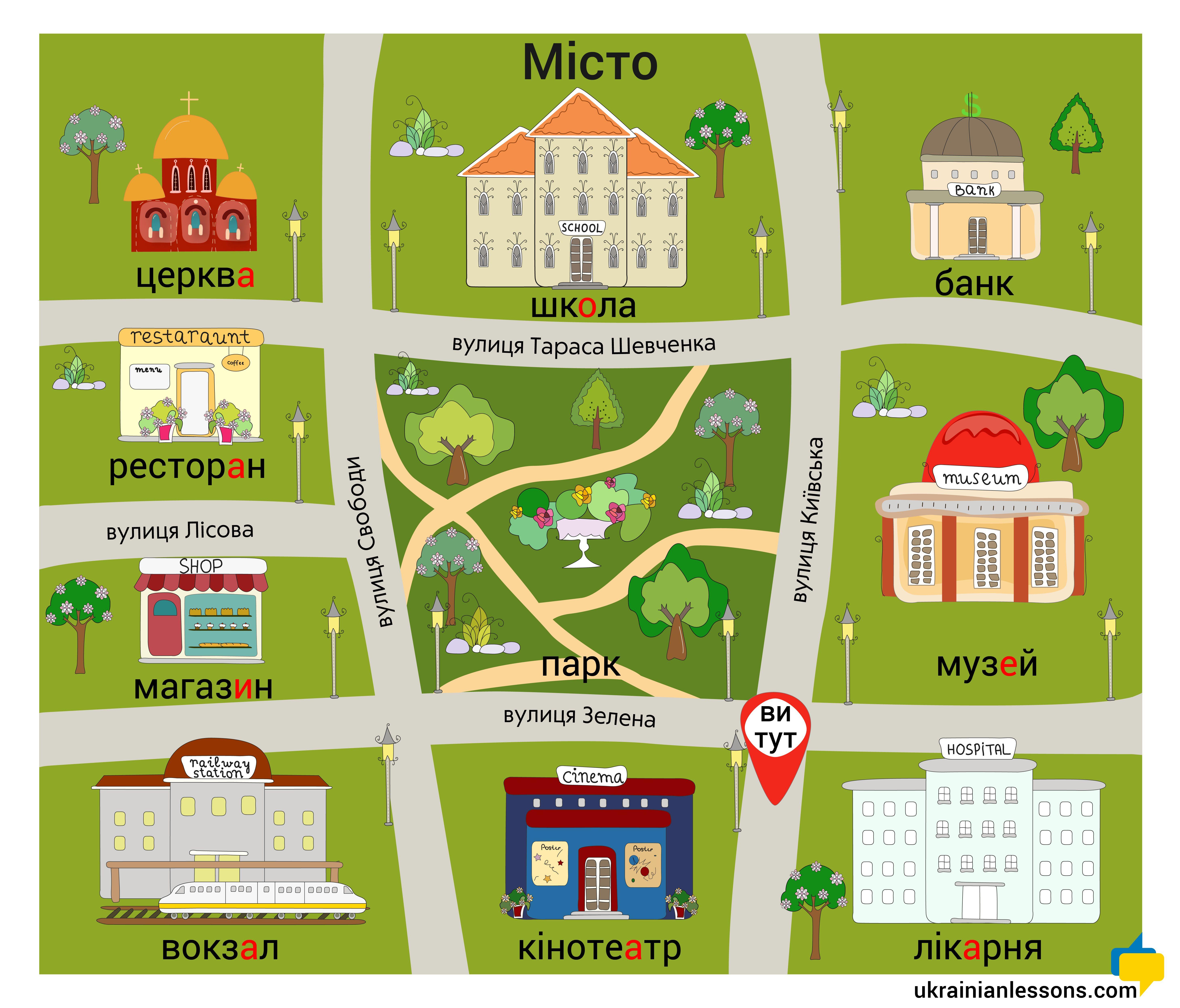 Pin By Ukrainian Lessons On Ukrainian Language