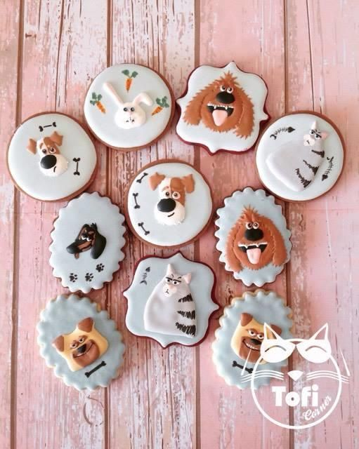 The Secret Life Of Pets Cookies Secret Life Of Pets Animal