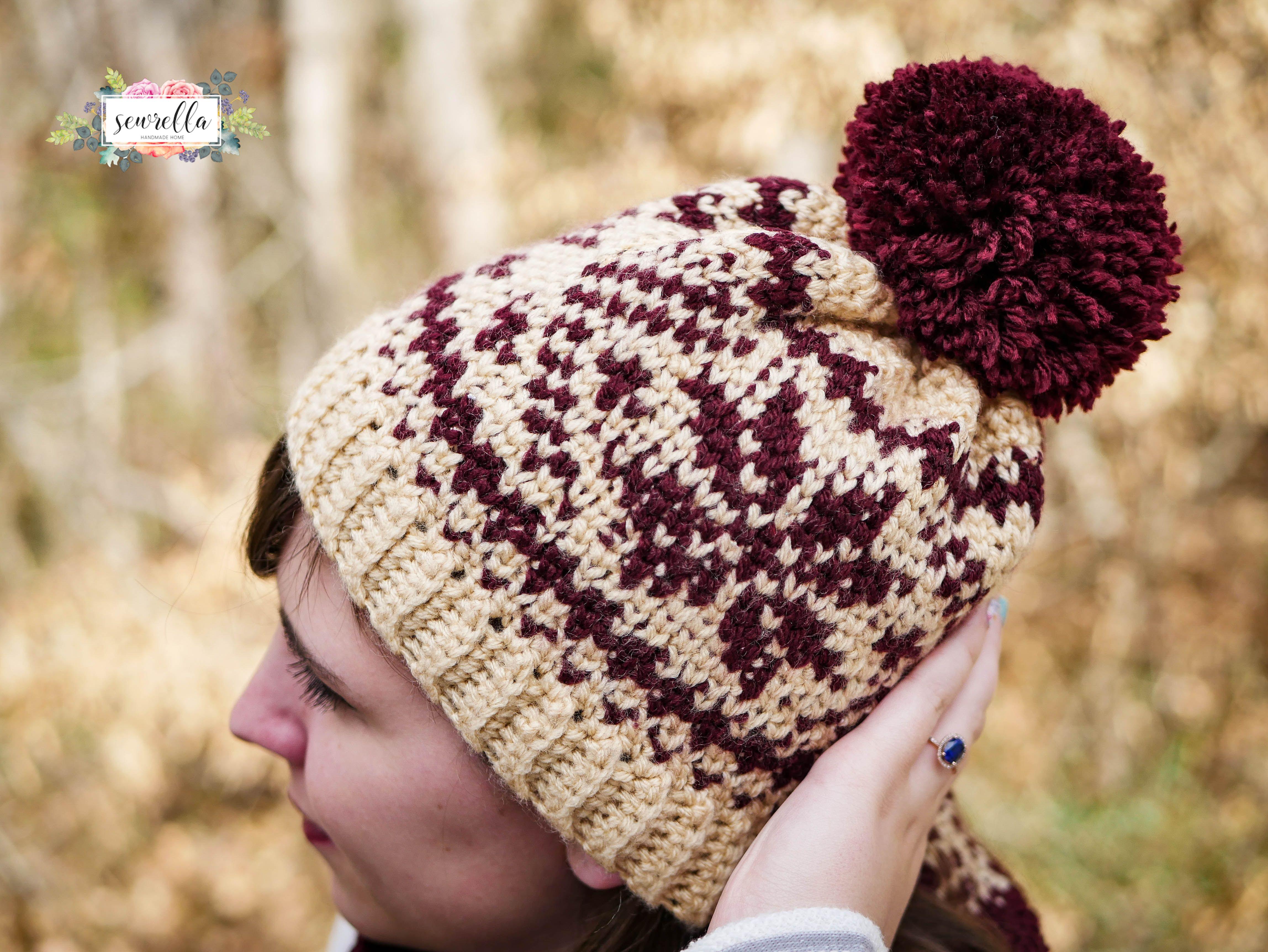 Faux knit fair isle crochet toque cowl fair isles crochet and faux knit fair isle crochet toque cowl cowl patternsknitting bankloansurffo Gallery
