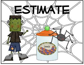 Teach With Laughter: Halloween Estimation Station Freebie
