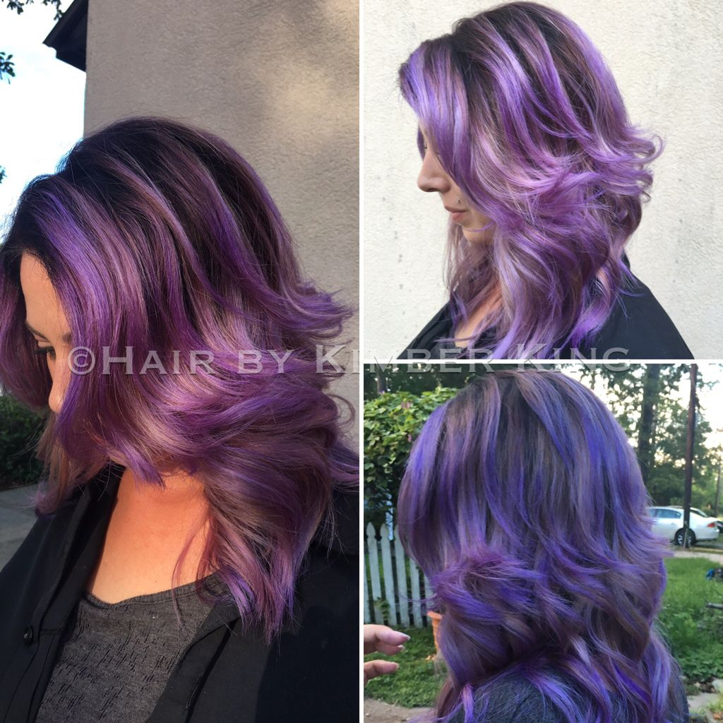 Magic, mermaid hair using joico color intensity! Different color ...