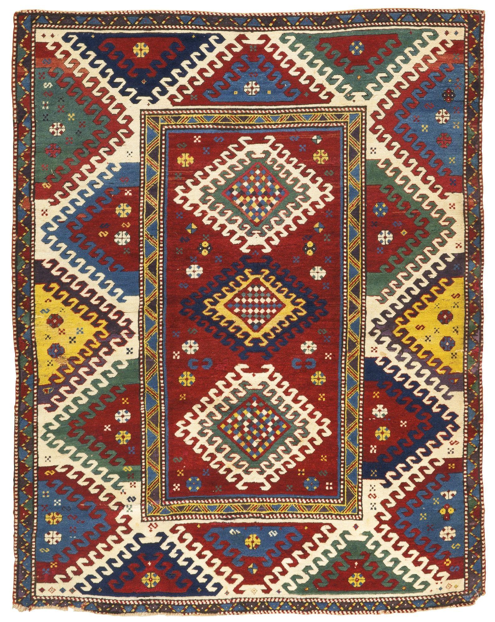 A Bordjalou Kazak rug, West Caucasus | lot | Sotheby's