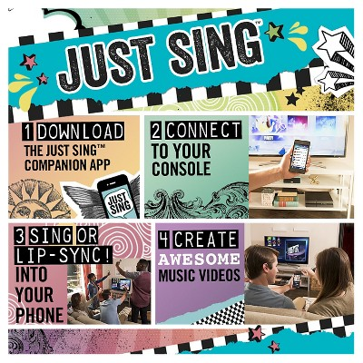 Just Sing PlayStation 4, video games Video game music
