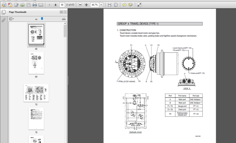 Pin On Hyundai Heavy Industries Service Manual