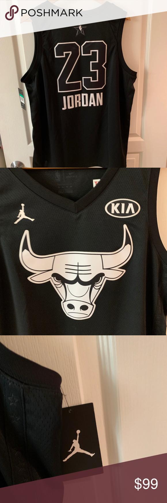 new style 12721 4732e Chicago Bulls Michael Jordan 2018 All-Star Jersey Chicago Bulls Michael  Jordan 2018 Kia All. Visit. February 2019