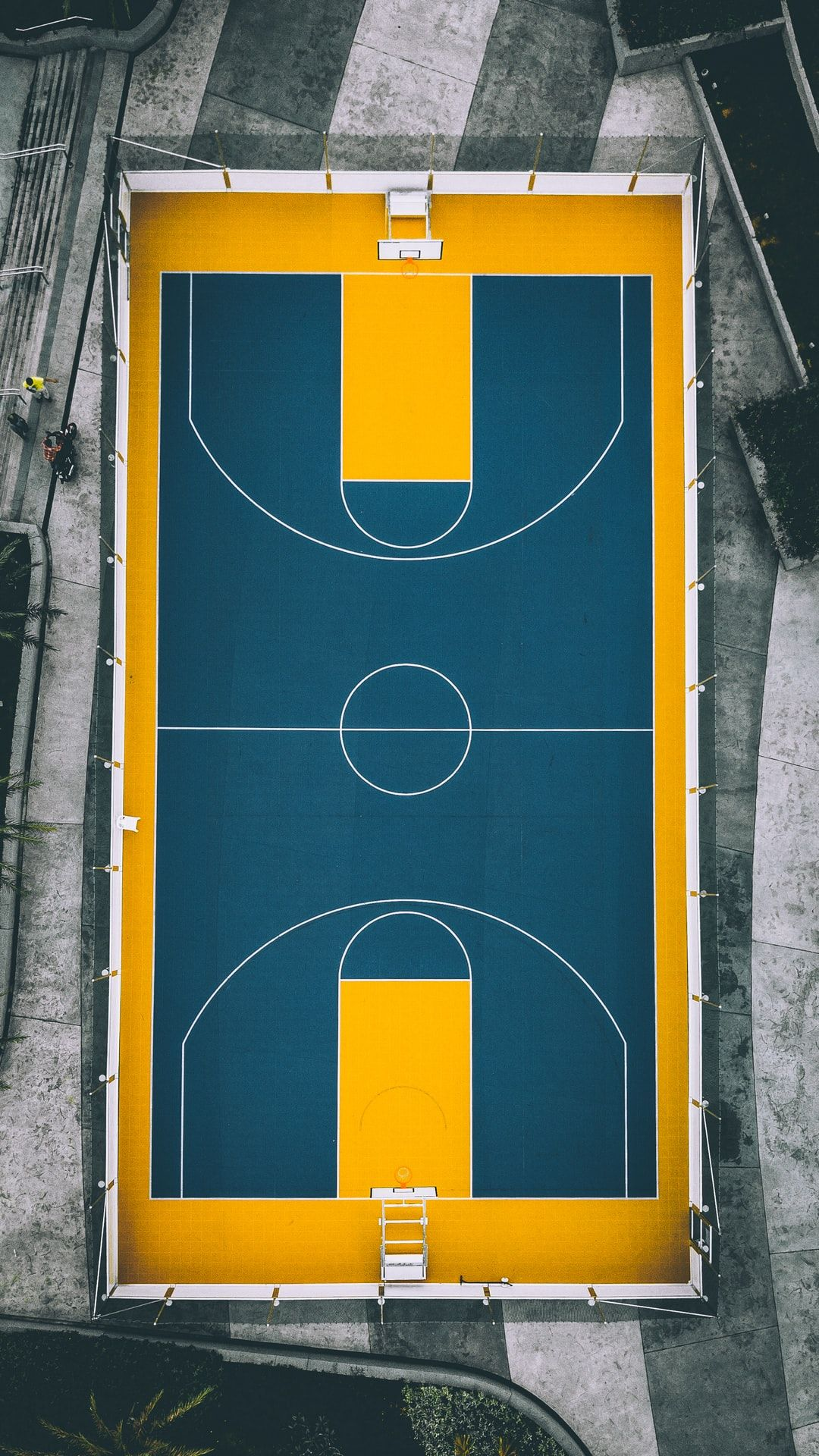 Basketball Court At Bukit Jalil Natio Hd Photo By Izuddin Helmi Adnan Izuddinhelmi On Unsplas Aerial Photography Drone Aerial Photography Aerial Images
