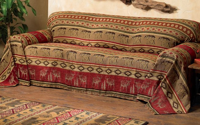 Adirondack Sofa Cover Sofa Covers Couch Covers Rustic Sofa