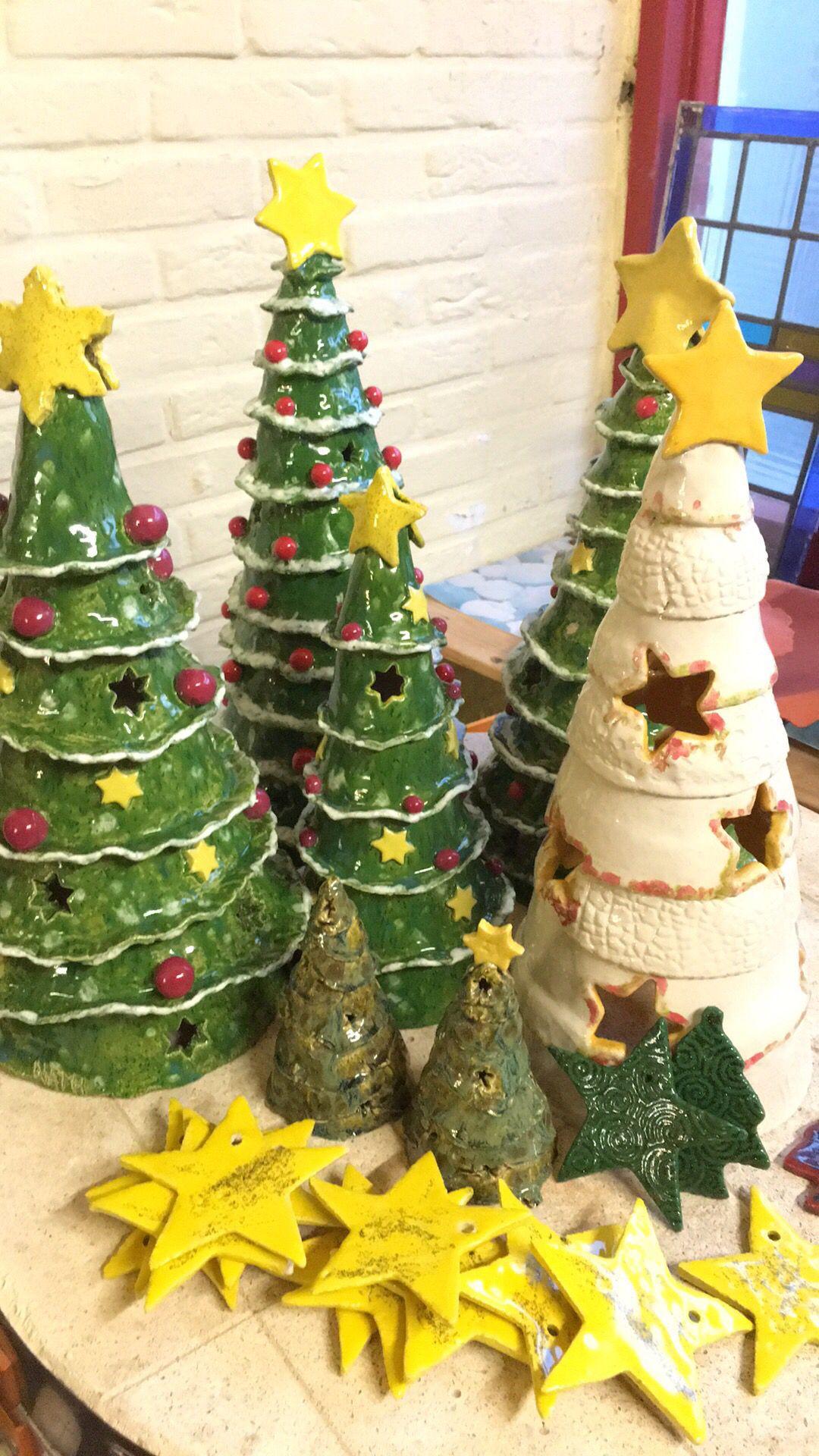 weihnachtsbaum keramik t pfern weihnachtlich t pfern. Black Bedroom Furniture Sets. Home Design Ideas