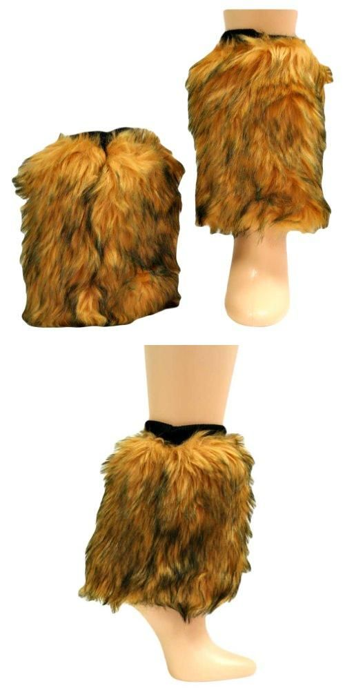 Camel Animal Print Faux Fur Leg Warmer Muff Boot Cover You can create your own style with this ultra chic and trendy accessory.. 100% Ultra Soft Polyester. One Size Fits All. L01447.  #Luxury_Divas #Apparel