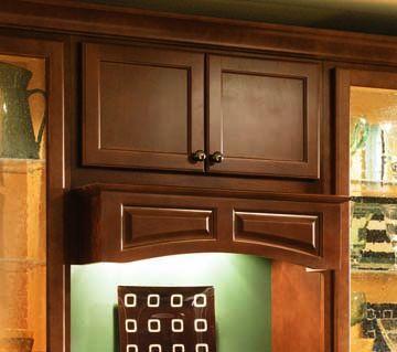 accent wood range hood | kitchens-tuscan/old world | pinterest