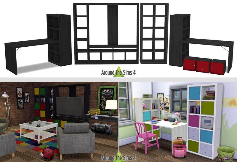 kallax ideen wohnung pinterest hintergr nde und dinge. Black Bedroom Furniture Sets. Home Design Ideas