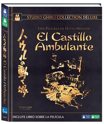 El castillo ambulante (Formato Blu-Ray + DVD) + Libro - Fnac.es - -