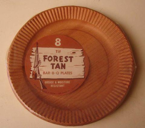 Wood Grain Paper Plates   wood grain paper plates & Wood Grain Paper Plates   wood grain paper plates   Rustic Chic ...