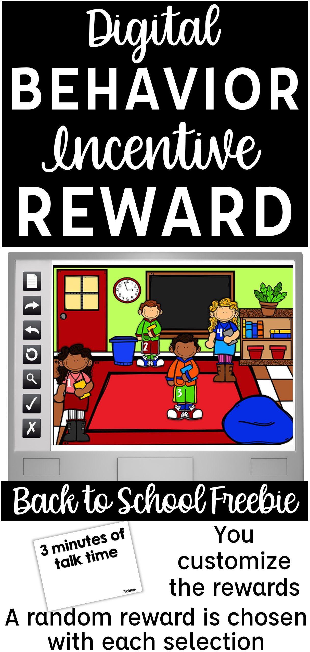 Classroom Management Behavior Reward System For Back To