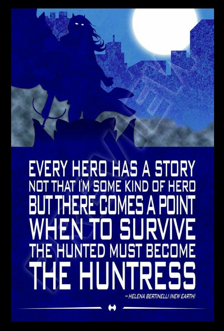 Series 2 Poster 5 - The Huntress