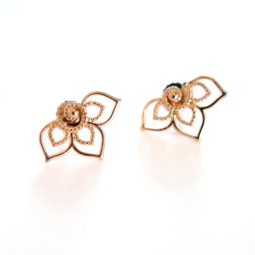 Photo of Trillium Stud Earrings