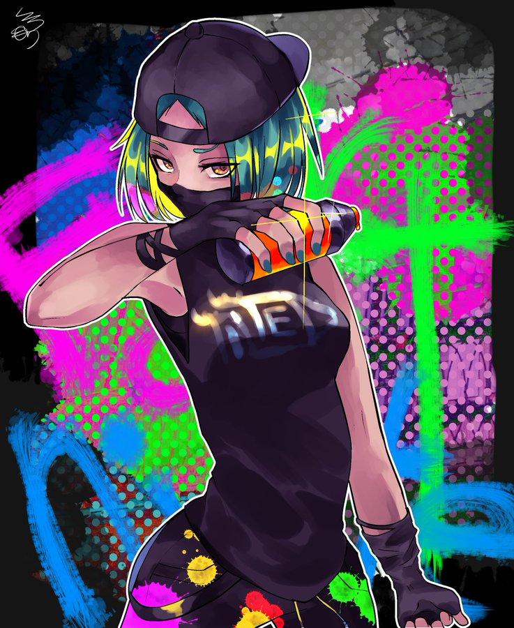 Fortnite Art (Fortnite_art_co) / Twitter Anime art girl